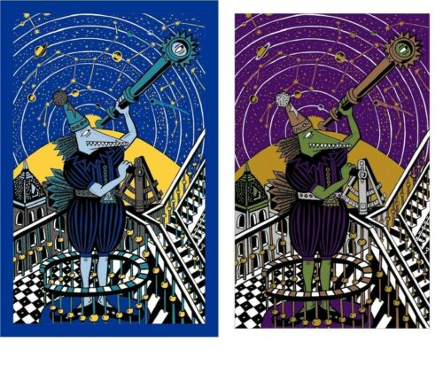 Neo-Metallic Ed Purple Sky Variant **AND** Neo 2020 Blues Ed Jim Pollack Phish