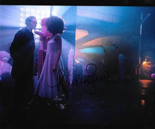 * HAYLEY LAW * signed autographed 8x10 photo * ALTERED CARBON * 2