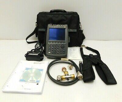 Agilent Fieldfox N9912a Rf Analyzer W Opt 104111230235236302 E3-987