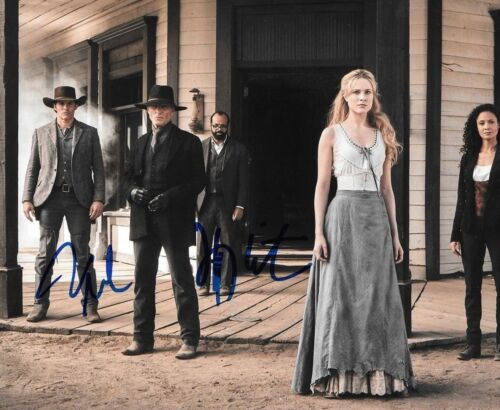 * JAMES MARSDEN & JEFFREY WRIGHT * signed autographed 8x10 photo * WESTWORLD * 2