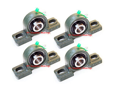 High Quality 34 Ucp204-12 Pillow Block Bearing With Grease Fitting Qty 4