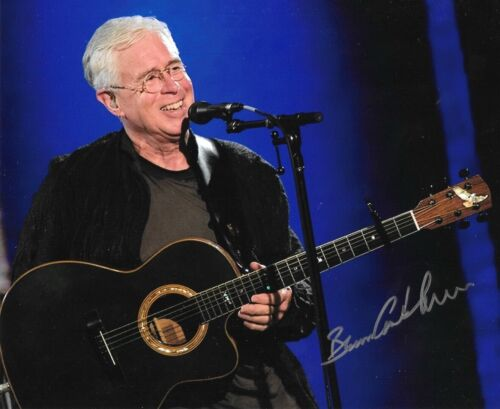 """* BRUCE COCKBURN * signed 8x10 photo * DANCING IN THE DRAGON""""S JAWS * COA * 2"""