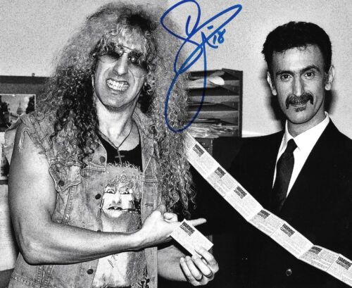* DEE SNIDER * signed autographed 8x10 photo * TWISTED SISTER * PROOF *  5