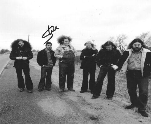 * STEVE WALSH * signed 8x10 photo * KANSAS ROCK BAND * COA * 6