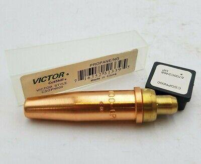 Victor Cutskill Csgpn000 Cutting Tip Size 000 Type Gpn Propane Natural Gas Nos