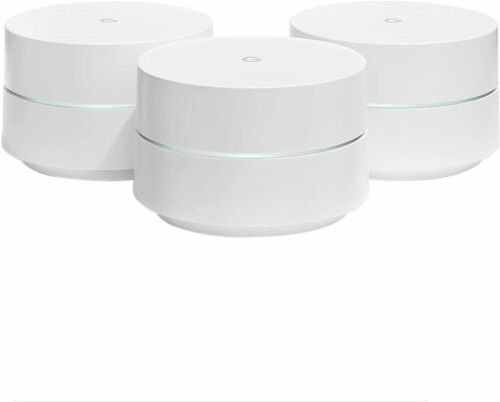 Google WiFi system, 3-Pack - for whole home coverage (NLS-130-25)