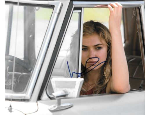 * IMOGEN POOTS * signed autographed 8x10 photo * NEED FOR SPEED * 2