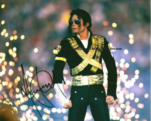 Michael Jackson Music Signed Autographed 8x10 Photo RP
