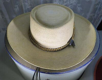 2 Vintage Hat Sombreros Espagnol Andaluz Red velor & Mexican Palma Chavez & Box