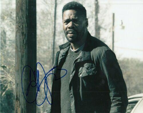 COLMAN DOMINGO signed (FEAR THE WALKING DEAD) 8X10 Victor Strand *PROOF* W/COA A