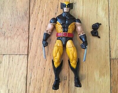 Marvel Legends Hasbro Brown Costume Wolverine Juggernaut Wave Action Figure