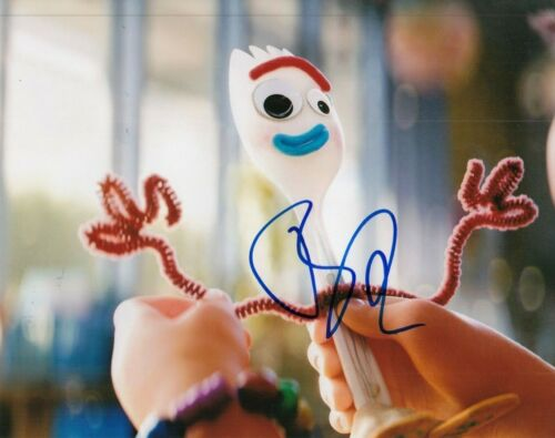 TONY HALE signed (TOY STORY 4) Movie autographed 8x10 photo *FORKY* W/COA #TH1