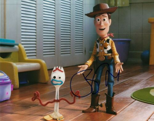 TONY HALE signed (TOY STORY 4) Movie autographed 8x10 photo *FORKY* W/COA #TH3