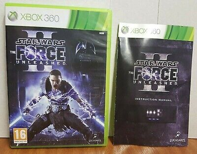 star wars the force unleashed 2 xbox 360