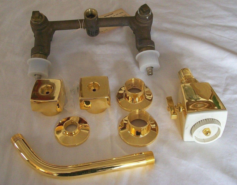 Kohler Alterna Dalton Shower Faucet In Polished Gold K 6931 Nos