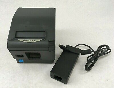 Star Tsp700ii Tsp743ii Pos Thermal Receipt Printer Ethernet Network Lan W Power