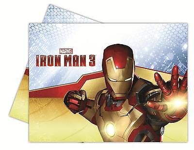 Iron Man Dekorationen (Iron Man 3 Tischdecke - 120cm x 180cm (Party/Dekoration/Geburtstag))