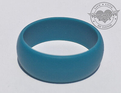 Teal Wedding Rings (TEAL - TOUGH LOVE Silicone Wedding Ring - FAST/FREE)