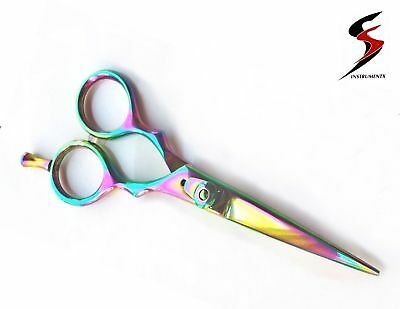 "Titanium Hairdressing, Barber Salon Scissors 5.5"" SS"