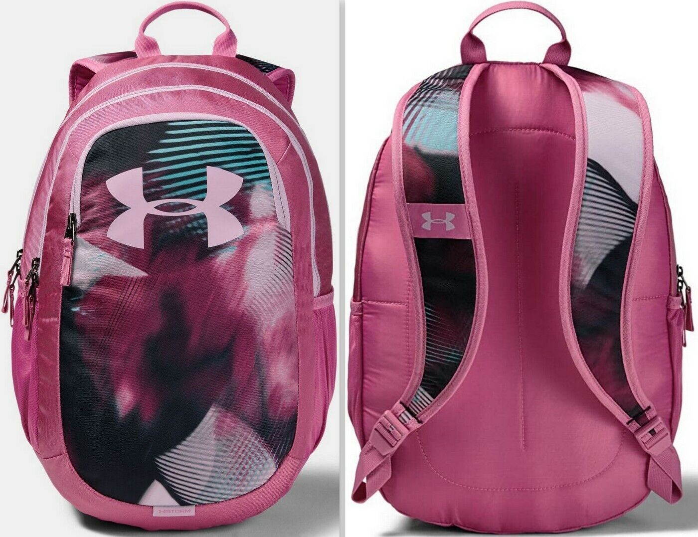 Under Armour UA Kids' Scrimmage 2.0 Backpack, Pace Pink/Pace