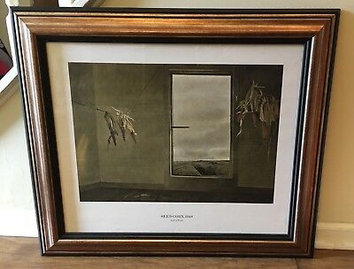Andrew Wyeth  - Seed Corn (1948) - VERY RARE HARD TO FIND - EXC Condition - O/P