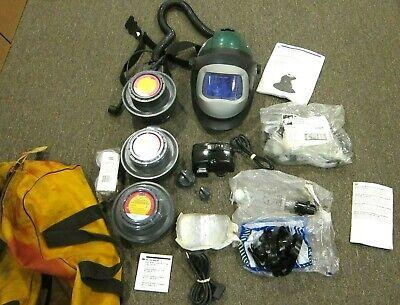 3m Speedglas Darkening Welding Helmet Cartridges Canvas Bag - Free Shipping