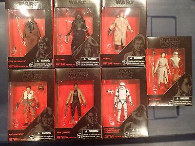 Star Wars Black Series   3 75 Figures Walmart Exclusive   U Pick Kylo Luke Solo