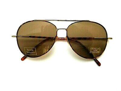 Sunglasses Personal Optics Aviator Style +250 Power Bifocal Vintage (Personalized Aviator Sunglasses)