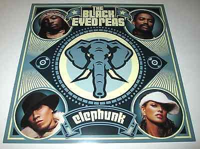 THE BLACK EYED PEAS~Elephunk~1ft by 1ft Promo Poster Flat~Excellent Condition