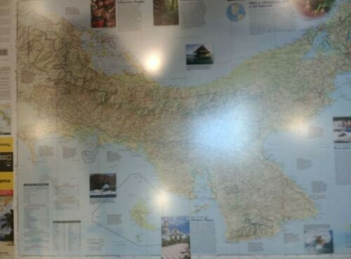 Panama Laminated Wall Map (K)