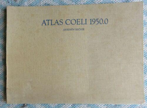 1962 Atlas Coeli 1950.0 Atlas of the Heavens Antonio Becvar