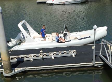 Zodiac Copy Inflatable Rib Craft 6.60 Metre 12 person Honda 135HP Biggera Waters Gold Coast City Preview