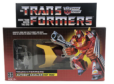 New Transformers Vintage G1 Autobot Cavalier Hot Rod 2018 Reissue