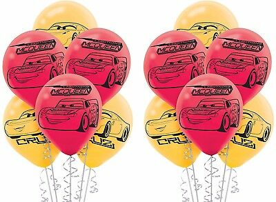 Disney Cars 3 McQueen Latex Balloons Boy Birthday Party Decoration Supplies - Mcqueen Birthday Supplies