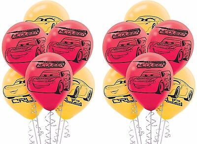 Disney Cars Balloons (Disney Cars 3 McQueen Latex Balloons Boy Birthday Party Decoration Supplies)