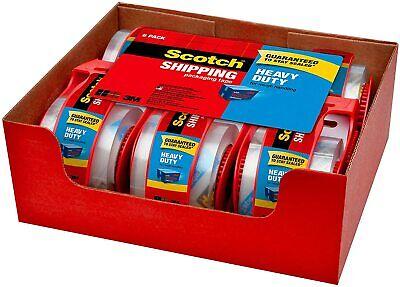 12 Rolls Scotch Carton Sealing Mailing Moving Box Shipping Packing Tape Seal