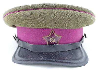 Soviet ORIGINAL WW2 NCO Infantry Model 1935 Visor Cap Hat, Dated 1940