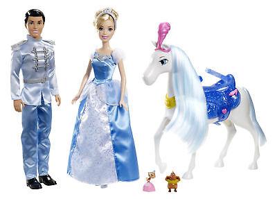 Gift set CINDERELLA & Prince with Horse MINT Disney CINDERELLA DOLL NRFB
