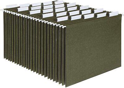 Hanging Organizer File Cabinet Folders Legal Size Green 25-pack Folder Hange