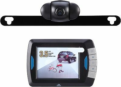"Peak PKC0RB 3.5-Inch Wireless Back-Up Camera with Full 3-1/2"" LCD Color Monitor"