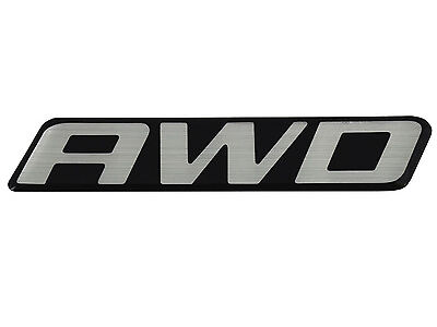 New OEM AWD Front Door Rear Hatch Truck Logo Emblem Badge Nameplate Decal Van