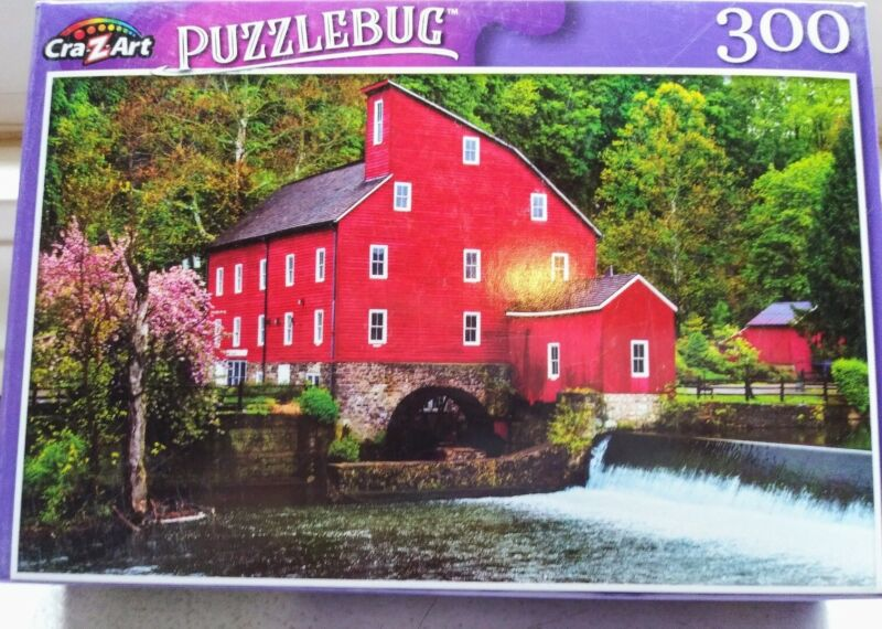 New 300 Piece Jigsaw Puzzle (Spring at Old Red Mill)  Puzzlebug