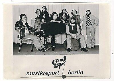 Ü411 FOTO MUSIKREPORT BERLIN GROßFORMAT 1976