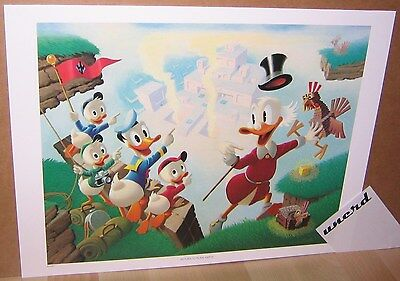Carl Barks Kunstdruck: Return to Plain Awful - Scrooge, Square Eggs Art Print