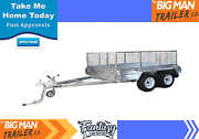 10x6 tandem trailer GVM2000KG Hot dip galvanised Clayton Monash Area Preview