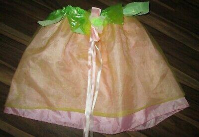 sching Kostüm Rock mit Gummizug Gr.ca.120 Blumenfee niedlich  (Niedliche Mädchen Kostüme)