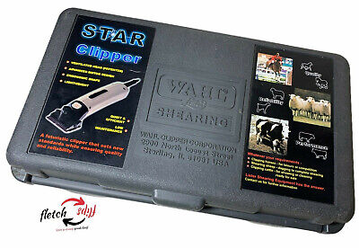 Wahl Lister Star Shearing Shearers Livestock Grooming Horse Sheep Dogs Wcase