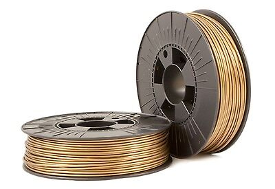 PLA 2,85 mm bronzo oro 3d filamento 0,75kg