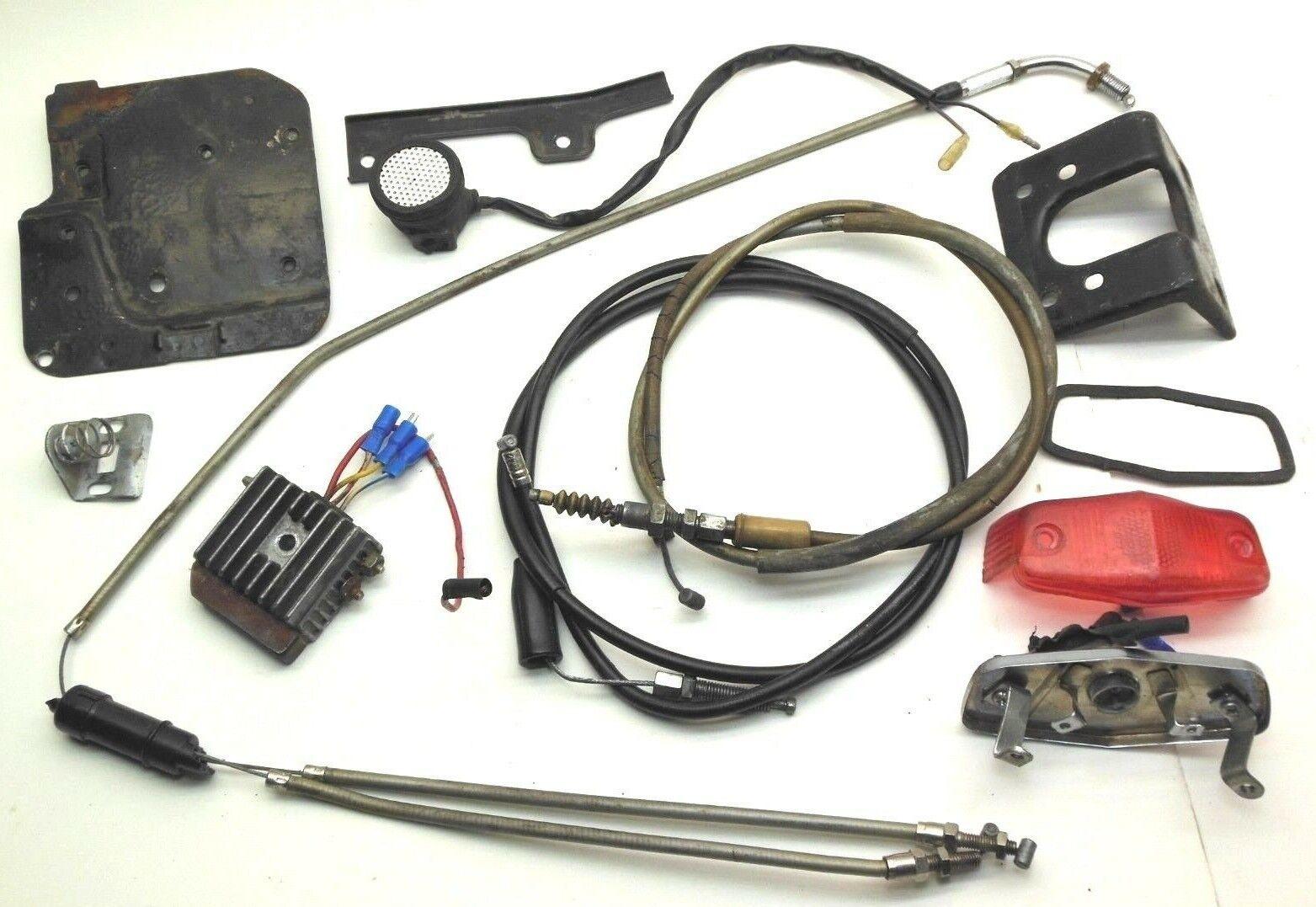 Suzuki GS750 Miscellaneous Parts Lot Cables Buzzer Small Bracket Wholesale