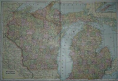 Harmony PA c1901 map 24x16